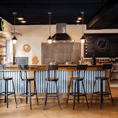 ale house gets rustic interior design makeover